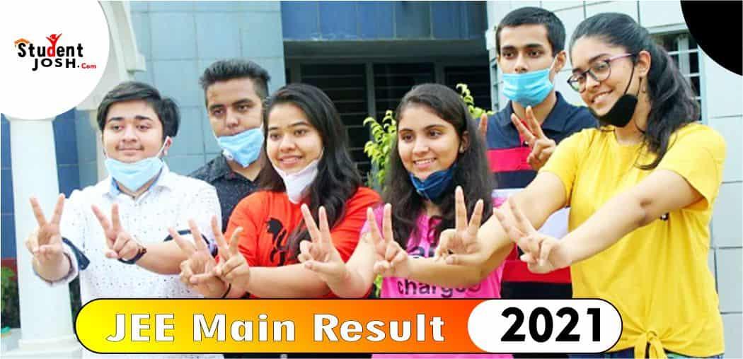 JEE Main Result 2021 Declared in Hindi