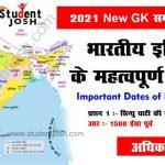 New gk 2021 in hindi