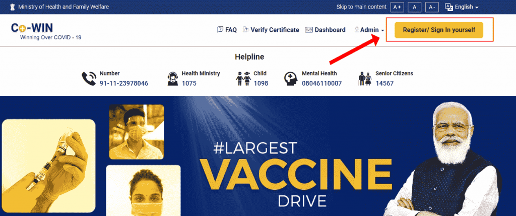 How to download CoVID-19 Vaccine certificate online PDF 2021 FREE studentjosh