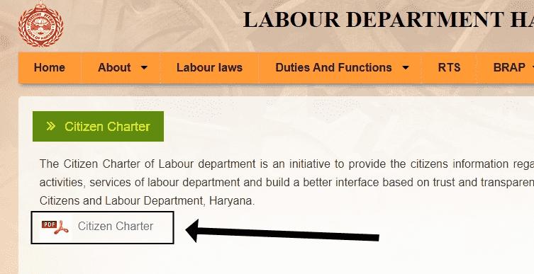 Haryana Kanyadan Yojana citizen charter-min