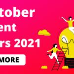 4 October 2021 Current Affairs